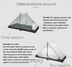 Lanshan 2 3f Ul Gear 2 Personne Outdoor Ultralight Camping Tent 3 Saison