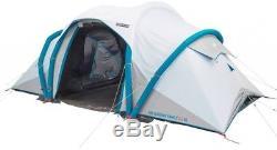 Large Air Seconds Tente De Camping 4 Personnes XL Fresh Et Black 4 Personnes