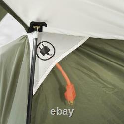 Lodge Tent 8 Personnes Camping En Plein Air Portable Voyage Famille Refuge Dome Cabine