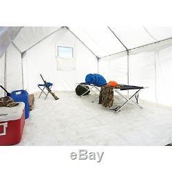 Lot Complet De Tente Murale En Toile 10 X 12 Avec Plancher Et Cadre Inclus, Grand
