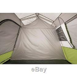 Lumineux Lumière Naturelle 9 Personnes Tente De Cabine Instantanée Avec Écran Chambre Camping En Plein Air