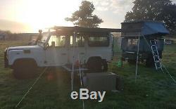 Maggiolina Safari Grand Toit Tente, 4x4 4 Roues Motrices Rtt Camping Sauvage
