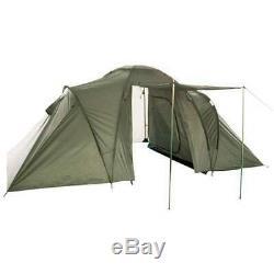 Mil-tec 2 Plus 2 Personne Armée Militaire Imperméable À L'eau 4 Tente Camping Green Man