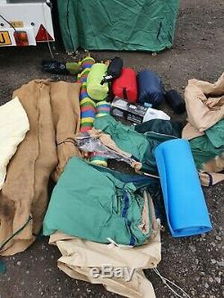 Mistral De-cabanon Luxe Tente Remorque Grand Taud Canopy & Cuisine 4-8 Berth