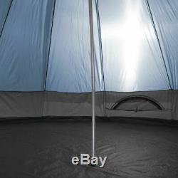 Mojave 400 Arona Tipi Tente Familiale Tente Bleue 5-10 Personne Tente De Camping Tente Indienne