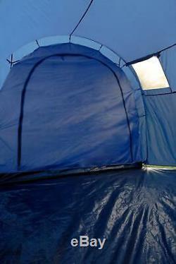 Montagne Entrepôt De Vacances 6 Man Dome Tente Grand Abri Camping Couchage