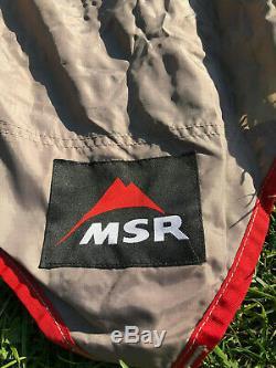 Msr Vistawing Bill Moss Tentes Design Grand Abri Aile Tarp Mint