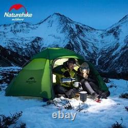 Naturehike Cloud Peak 2 Homme Tente 4 Saisons Backpacking Randonnée Camping Sauvage Nouveau