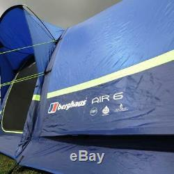 New Berghaus Air 6 Gonflable Tente Famille