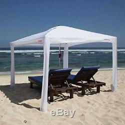 New Cool Cabanas Upf50, 50 + Protection Fournir Uv, 8pockets Blanc De Grande Taille
