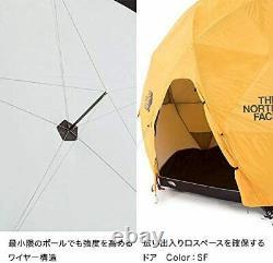 North Face Ent Geodome 4 Nv21800 Safran Jaune Du Japon Nouveau