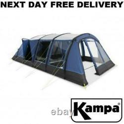 Nouveau 2021 Kampa Croyde 6 Air Pro 6 Homme Berth Person Inflatable Large Tent