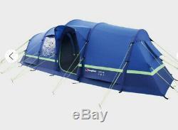 Nouveau Berghaus D'air Gonflable 6 Porche Tente Bleue