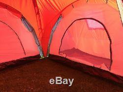 Nouveau Grand Dortoir Pour 6 Personnes En Forme De Dame Avec Moustique En Camping Familial Avec Trois Chambres