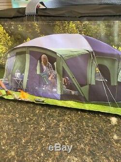 Nouveau Ozark Trail 12 Personnes Chalet Tente Avec Porche D'écran Sleeping Family Camping