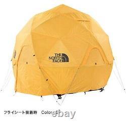 Nouveau The North Face Geodome 4 Tente Safran Jaune Nv21800 Du Japon Gratuit Dhl