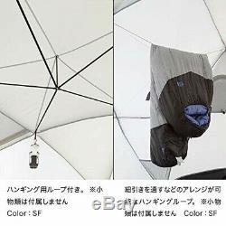 Nouveau Visage Du Nord Nv21800 Geodome 4 Tente Avec Empreinte Jaune Safran Du Japon