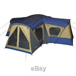 Nouvelle Cabine Ozark Trail Pour 14 Personnes Pour Randonnée, Tente De Camping 4 Pièces, Base Rapide, Grand Bateau