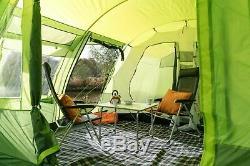 Olpro Le Malvern Grand 6 Berth 2 Chambres 5000mm Tente Verte Famille Hydrostatiques