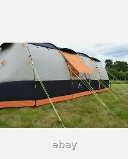 Olpro Wichenford Breeze Tente Tunnel 8 Berth Tente Famille Grande