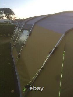Outwell Drummond 7 Tente, Grande Tente, L'état Utilisé Mais Excellent Et Propre