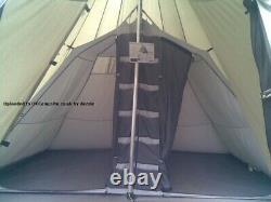 Outwell Indian Lake Grande Tente En Polycotton Tepee Avec Chambre Intérieure