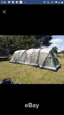 Outwell Nebraska XL 8 Tente Familiale Très Très Grande Grande Tente Pour Camping