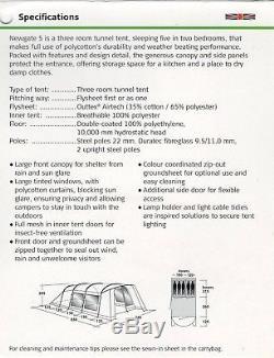 Outwell Newgate 5 Grande Tente Pour Cinq Personnes Utilisée Une Fois