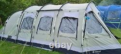 Outwell Norfolk Lake 8 Berth Tente Familiale, Tapis, Plus Les Extras