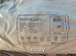 Outwell Norfolk Lake Tente Familiale, Extension Latérale Et Tapis. Excellent État