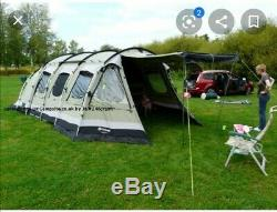 Outwell Norfolk Lakes 8 Man Tente Pollycotten
