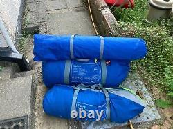 Outwell Tente 4personnes +extension (bleu) Utilisé 5 Fois En Parfait État 25kg