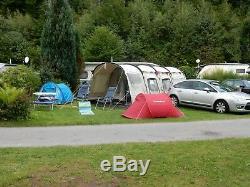 Outwell Wolf Lake 5 Tente De Polycoton Avec Empreinte Grande Tente Familiale