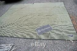 Outwell Wolf Lake 5 Tente Polycoton Large Family Tent Inc Tapis Collecte Le8