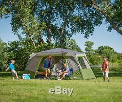 Ozark Tr Camping Familial Pour 11 Personnes, Grande Tente En Plein Air, Instantané, Cabine 3 Pièces