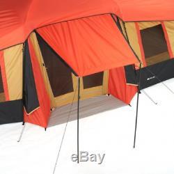 Ozark Trail 10 Personne 3 Chambre Cabine De Vacances Grande Famille Camping Tente Canopy
