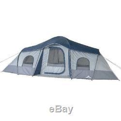 Ozark Trail 10 Personne Cabine Instantanée 3 Pièces Tente Grand Camping En Plein Air Lumière Facile