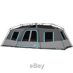6 personne instantané cabine tente Lumières DEL Camping Outdoor Gear Ozark Trail saison 3