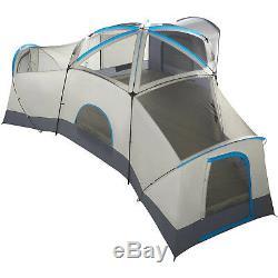 Ozark Trail 16 Personnes, Grande Tente Familiale, 3 Cabines, Base De Camping, Randonnée En Plein Air