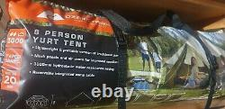 Ozark Trail 8 Person Yurt 8 Homme Waterproof Glamping Festival Bell Tente 8 Berth