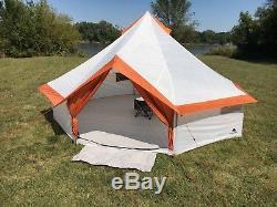 Ozark Trail 8 Personnes Grande Tente Yourte Famille Camping Randonnée En Plein Air Rapide Installation