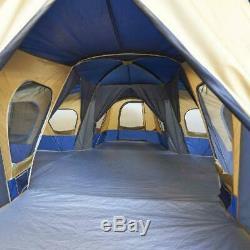 Ozark Trail Cabin Tente 14 Personne 4room Base Camp Tente Grande Tente Abri De Camping