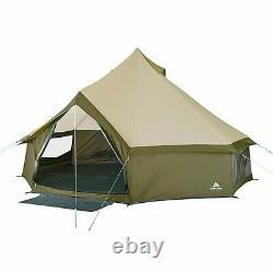 Ozark Trail Olive Green Waterproof Yurt Tente 8 Personnes Camping Familial D'été