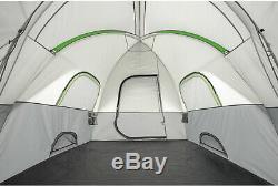 Ozark Trail Tente De Tunnel À Dôme Modifiée Tente Pour 8 Personnes 16 X 8 En Camping