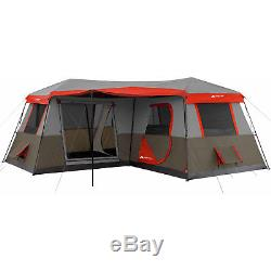 Ozark Trail X Grande Tente De Cabine Instantanée Grand Windows Camping En Plein Air Installation Rapide