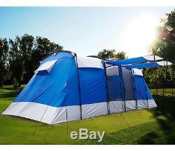 Peaktop 2 + 1 Rooms 6-8 Persons Grande Tente De Camping Pour Famille
