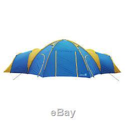 Peaktop 8-10 Persons 3 + 1 Rooms Tente De Camping Pour Grand Groupe Étanche