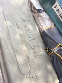 Pièces Détachées Ou Réparations Jamet Grande Remorque 8 Couchettes Tente Non Touristique Caravan Camping