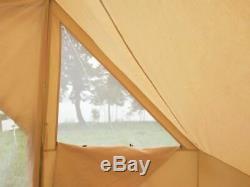 Place Family Camping En Toile De Coton 5 M X 4 M Touareg De Bell Tente Avec Double Porte