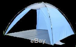 Plage Tente De Festival Abri Solaire Très Grand 2m X 2m Camping Pêche En Énergie